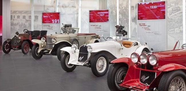 Alfa Romeo auto d'epoca